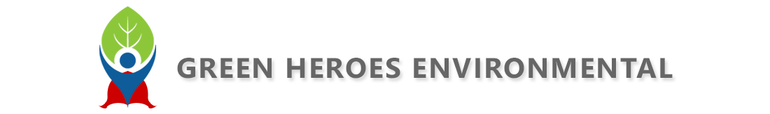 Green Heroes Environmental Logo